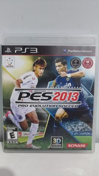 Pro Evolution Soccer Pes 2013 Ps3 - Mídia Física
