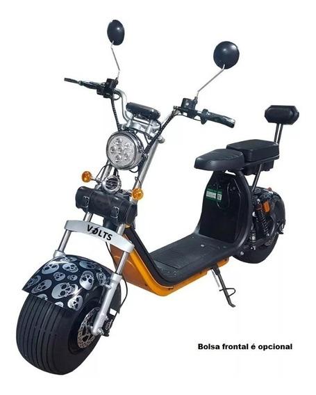 Patinete Moto Scooter Elétrico Bateria Removível 1500w