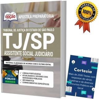 Apostila Tj Sp - Assistente Social Judiciário
