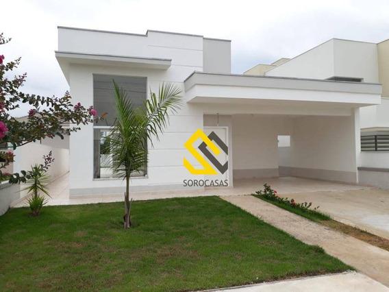 Casa Com 3 Dormitórios À Venda, 170 M² Por R$ 600.000,00 - Condomínio Vila Verona - Sorocaba/sp - Ca0524