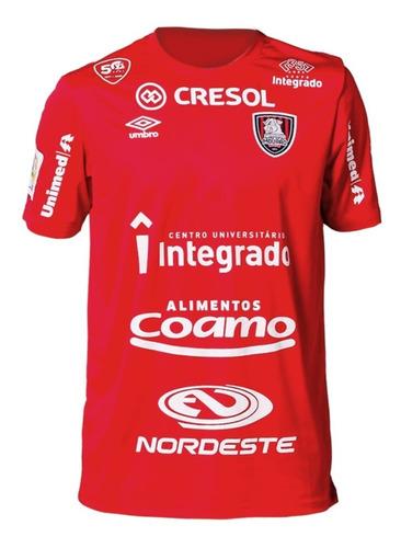 Camiseta Oficial Futsal Campo Mourão Umbro Vermelha