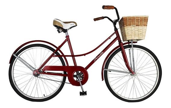 Bicicleta Peretti Paseo Vintage Dama Rondinella R26