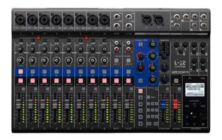 Mixer Zoom Livetrak L12 Streaming Multitrack Vivo Palermo