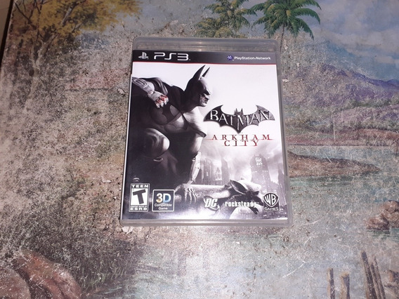 Jogo Ps3 Batman Arkham City Original Mídia Física