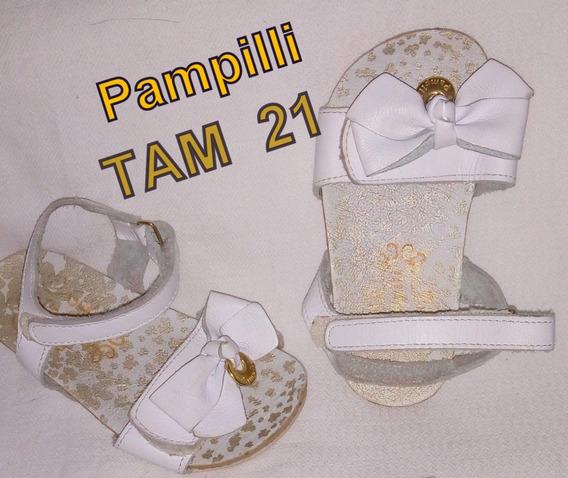 Sandália Branca Pampill Tam 21