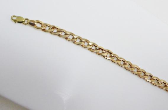 Pulseira Masculina Em Ouro 18 Kl - Luxo - Frete Grátis