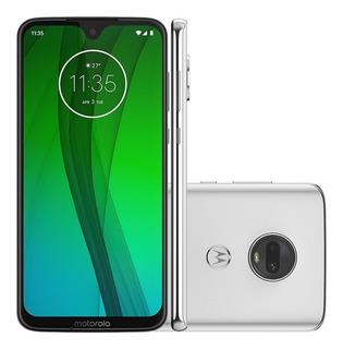 Smartphone Motorola Moto G7 64gb Dual Traseira 12+5mp Polar
