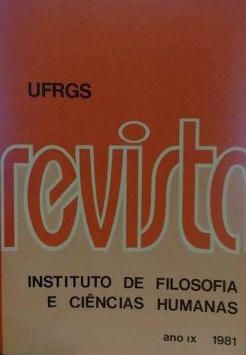 Revista Do Instituto De Filosofia E Ciências Humanas - An...