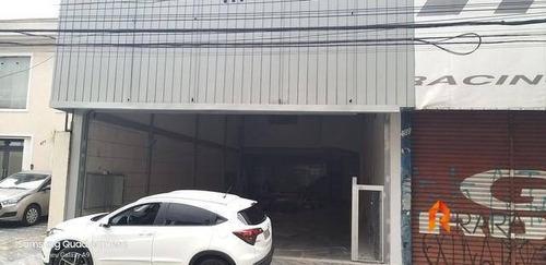 Salão Para Alugar, 400 M² Por R$ 9.000/mês - Jardim Bela Vista - Santo André/sp - Sl0031