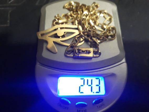 Corrente Em Ouro 18 K 750 Fabricado Com Ouro De Garimpo