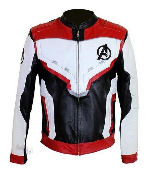 Chamarra De Piel De Borrego Avengers Endgame Cuero Marvel