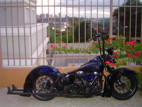 Harley-davidson Panhead 1958 - Raridade