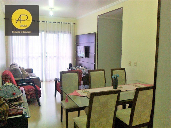 Apartamento Residencial À Venda, Alto Ipiranga, Mogi Das Cruzes. - Ap0008