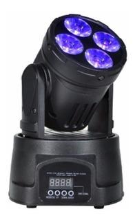Cabezal Movil 4 Led Rgbw Robotico Dmx Boliche Dj