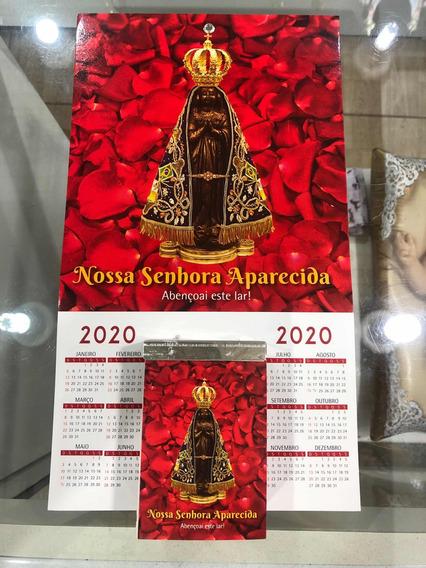 Folhinha Nossa Senhora Aparecida 2020 - Rosas