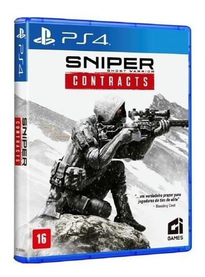 Sniper Ghost Warrior Contracts Ps4 Jogo Mídia Física Lacrado
