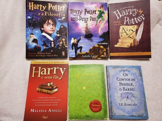 Harry Potter Kit 6 Livros Novos
