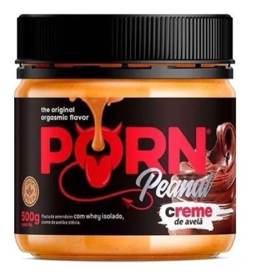 Pasta De Amendoim Porn Peanut Creme De Avelã 500g - Porn Fit