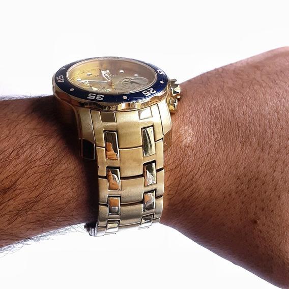Relogio Invicta Modelo 80068 Pro Diver Dourado Banhado A Our
