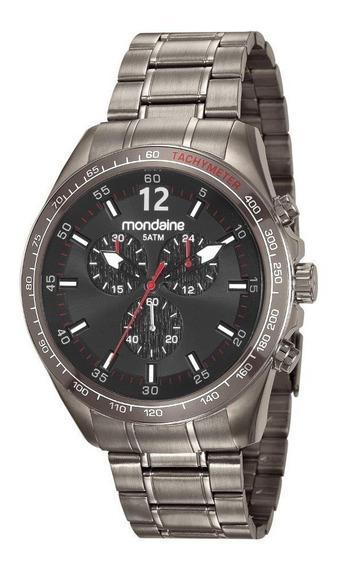 Relógio Mondaine Masculino Grafite 83382gpmvss1