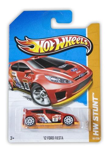 Hot Wheels Mattel Hw Stunt '12 Ford Fiesta 2013 X1732