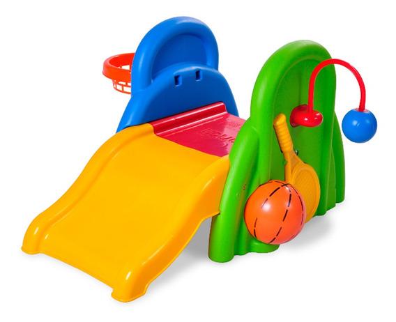 Tobogan Infantil Baby Sports Con Centro De Actividades Rondi