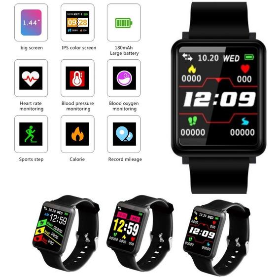 Pulseira Smartband Corrida Passos Monitor Cardiaco Sportiva