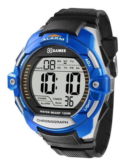 Relógio X-games Masculino Digital Azul Claro