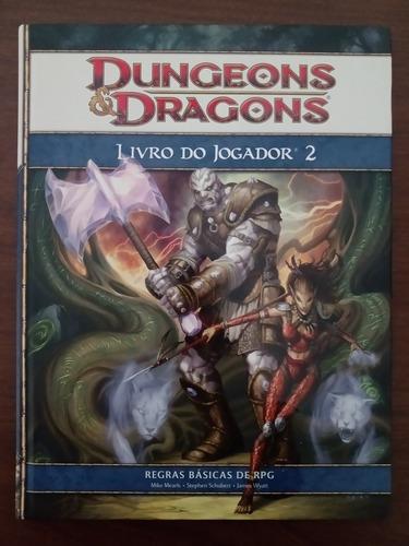 Livro Rpg D&d 4ª Ed Livro Do Jogador 2 Dev218987200