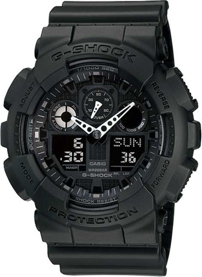 Relógio Casio G-shock Ga-100-1a1dr *three Eye