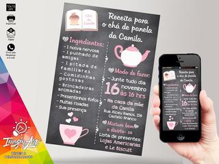 Convite Digital - Chá De Panela