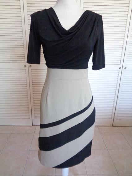 Vestido Dressbarn Talla 4 Usa, Strech,medidas En Descripcion