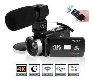 Video Camara Camcorder Vetek 4k 1.100