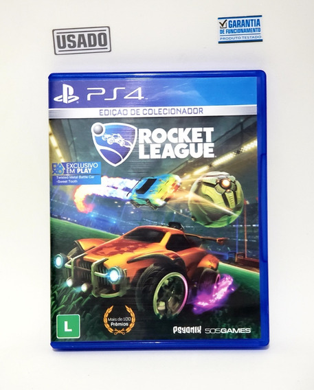 Jogo Rocket League Ps4 Mídia Física Usado