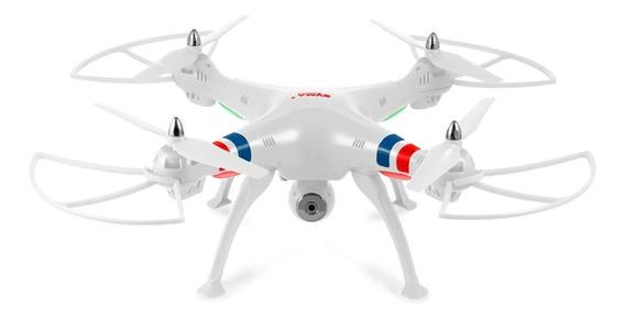 Drone Quadricóptero Syma Pfv Real Time X8w Wifi 4 Canais Distancia 100 Metros Autonomia 7 Minutos A10590