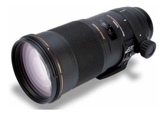 Lente Sigma 180mm F/2.8 Apo Macro Ex Dg Para Nikon Usada