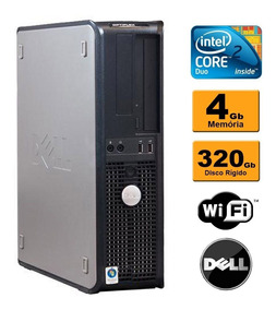 Dell Optiplex 380 Core 2 Duo 4gb Ddr3 Hd 320gb