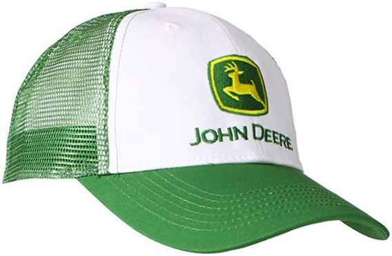 John Deere Hombre Marca Logo Gorra De Malla Core Gorra De Bé