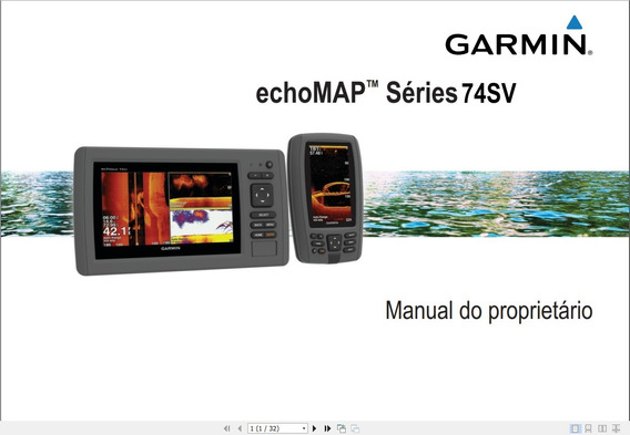 Manual Em Português Do Gps Garmin Echomap 74sv