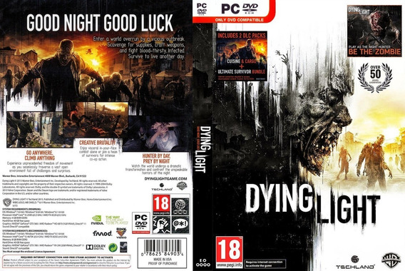 Dying Light Pc (midia Fisica)