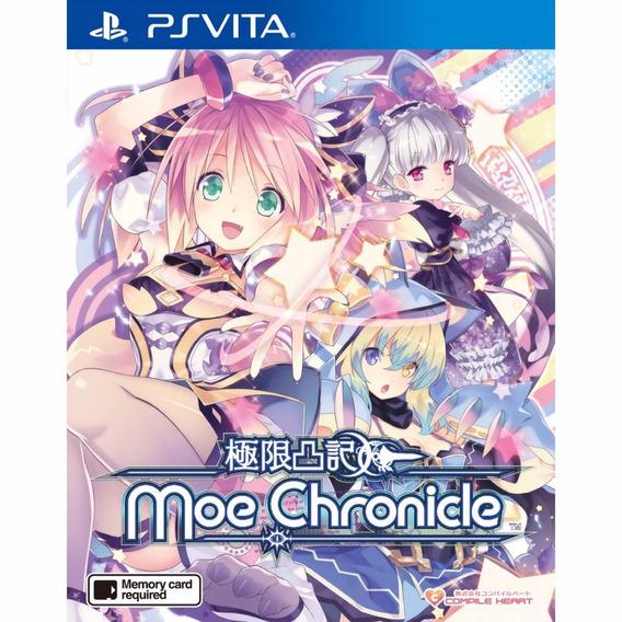 Moe Chronicle Genkai Tokki Moero Chronicle Em Inglês Ps Vita
