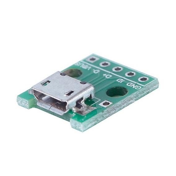 Conector Micro Usb Femea, Pcb, Prototipo, Esp-12, Arduino