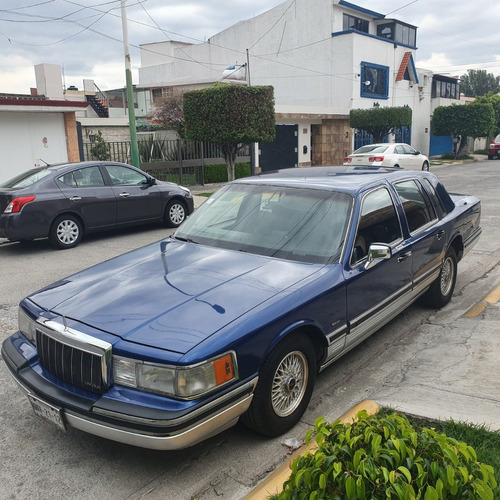 Imagen 1 de 13 de Lincoln Town Car 1991 Impecable De Coleccion