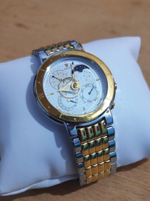 Relógio Vintage Unissex Seiko Levante Fases Da Lua Raro