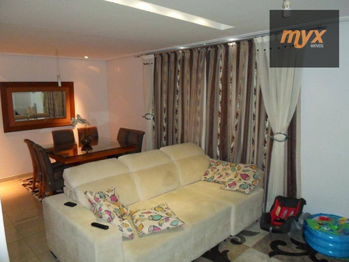 Casa Com 3 Dormitórios À Venda, 128 M² Por R$ 535.000,00 - Vila Valença - São Vicente/sp - Ca0822