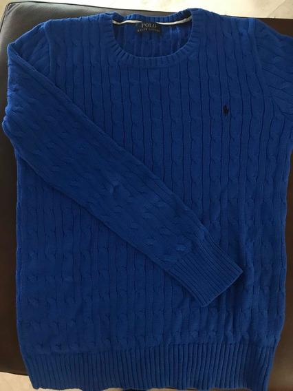 Suéter Polo Rl Original Seminuevo