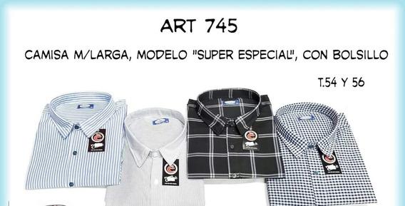 Camisas Super Especiales M Larga