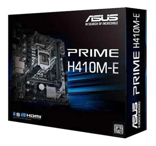 Imagen 1 de 2 de Motherboard Asus Prime H410m-e Intel 10ma Lga 1200 Ddr4 M.2