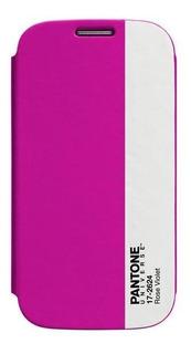 Estuche Pantone Agenda Samsung Galaxy S4 Rose Violet