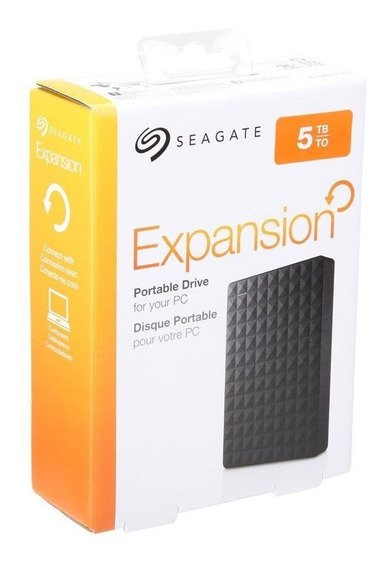 Hd Externo Portátil Seagate Expansion 5000gb - 5tb Usb 3.0